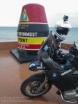 Tarraserif stickers in Southernmost point in US